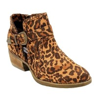 Not Rated Percy Ankle Boot in Leopard