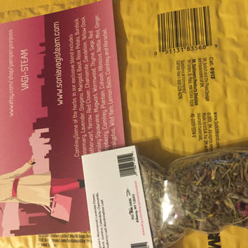 January 2K17 Sale: 3 (4x6) Bags of Blended Herbs V-Steam Free Shipping Within USA
