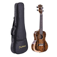 M Y Fly Young Meideal Ukulele MUH-19 Concert Acoustic 24inch Butterfly Wood Original Wood Color with Gig Bag 1 Set