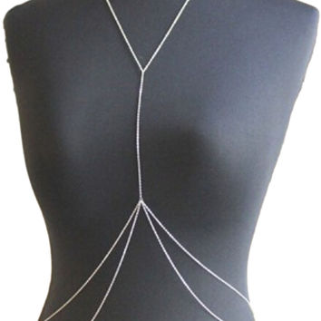 Gold Chain Body Harness