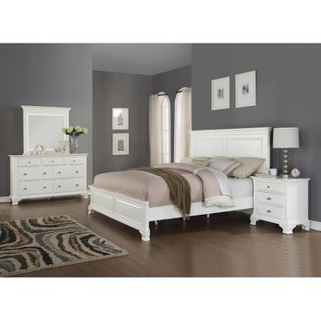 Fellsburg Panel 4 Piece Bedroom Set