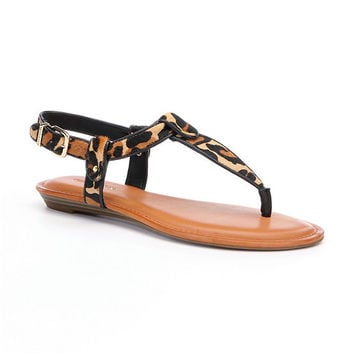 Gianni Bini Lyla Leopard Sandals | Dillards