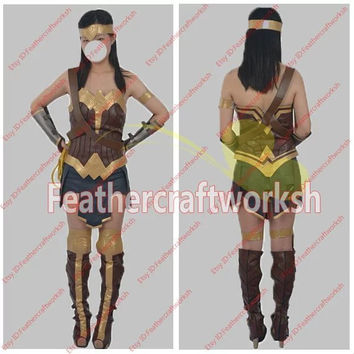 Batman VS Superman Wonder Woman Diana Cosplay Costume