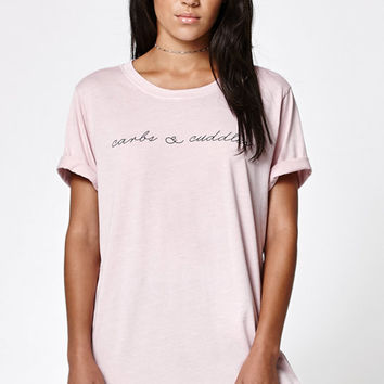 LA Hearts Carbs & Cuddles Boyfriend T-Shirt at PacSun.com