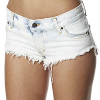 SURFSTITCH - OUTLET - WOMENS - SHORTS - RUSTY MINTY SHORT - WHITE WASH