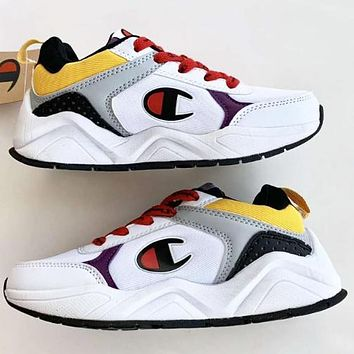 Champion New fashion logo couple running sports leisure shoes