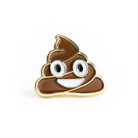 Happy Poop Pin