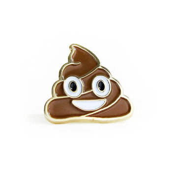 Happy Poop Lapel Pin