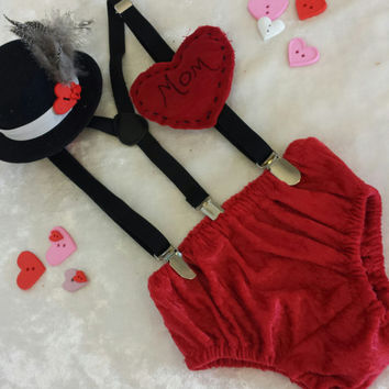 Baby Boy Valentines Day from MYSWEETCHICKAPEA on Etsy