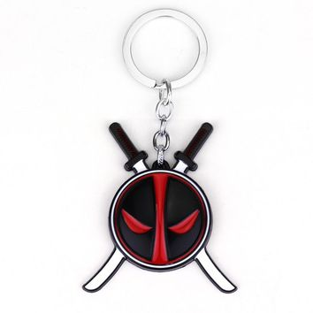 Deadpool Keychain Alloy Metal