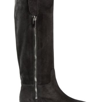 Sergio Rossi zip closure boots