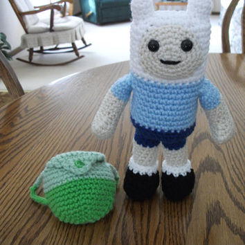 Finn the Human from Adventure Time by beccabeargirl on Etsy