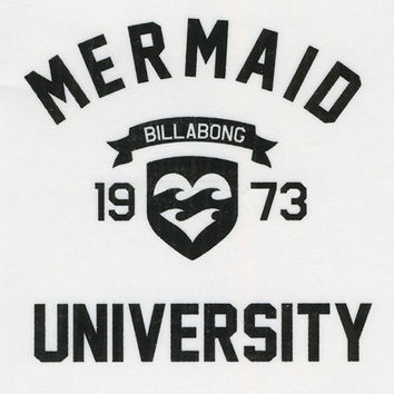 BILLABONG Mermaid University Sticker | Stickers