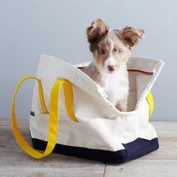 Love Thy Beast Carrying Tote - Natural