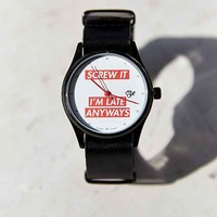 Cheapo Pop Screw It Watch- Black One