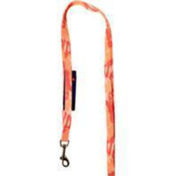 Hamilton Pet Company - Ribbon Overlay 5/8 Single Thick Lead