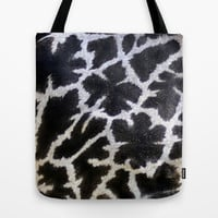 giraffe... close up Tote Bag by Marianna Tankelevich