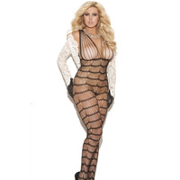 On Sale Cute Hot Deal Plus Size Set Sexy Socks One-piece Exotic Lingerie [6596488195]