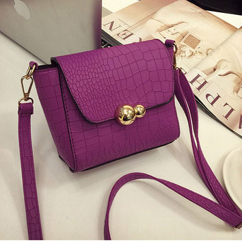 PU Leather Small Messenger Bag MORE COLORS