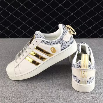 BAPE x NBHD x Adidas Fashion Old Skool Sneakers Sport Shoes