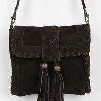 Ecote Suede Tassel Crossbody Bag - Urban Outfitters