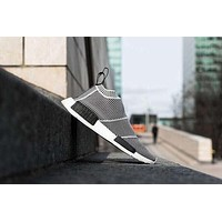 NMD_CS1 PK Runner City Sock Nmd Cs1 CS 1 Mens Women Classic Running Shoes Fashion City Sock Cs1 Primeknit Grey Sports Sneakers 36-44