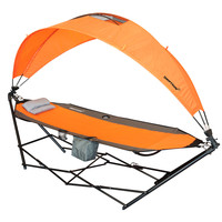 Portable Lawn, Patio and Camping Hammock with Canopy
