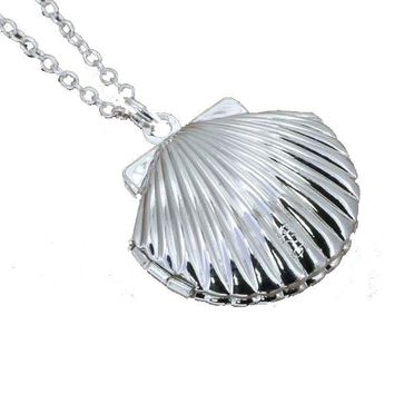 Silver Plated Pendant Necklace For Women