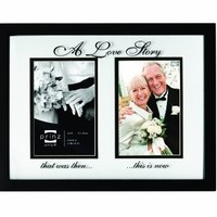 Prinz 2/4 by 6-Inch Forevermore A Love Story Black Wood Frame