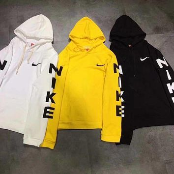 Nike Casual Fashion Sport Top Sweater Sweatshirt Hoodie  F