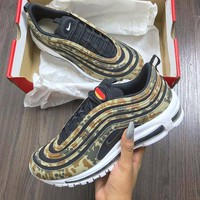 shosouvenir  : Nike Air Max 97 Camo Fashion Running Sneakers Sport Shoes