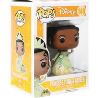 Funko Disney The Princess And The Frog Pop! Princess Tiana & Naveen Vinyl Figure