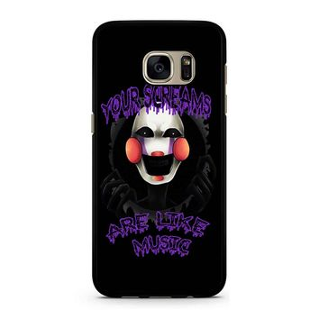 Five Nights At Freddy S The Marionette Samsung Galaxy S7 Case
