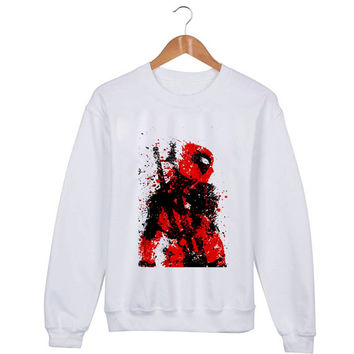 Deadpool Sweater sweatshirt unisex adults size S-2XL