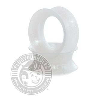 Snow Pearl Silicone Ear Skins