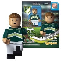 Portland Timbers Oyo® Captain Will Johnson Minifigure - Portland Timbers