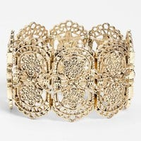 Orion 'Gold Lace' Stretch Bracelet | Nordstrom