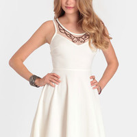 Dancing Light Skater Dress - $52.00 : ThreadSence, Women's Indie & Bohemian Clothing, Dresses, & Accessories