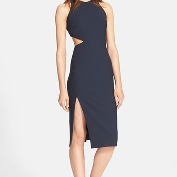 Women's Elizabeth and James 'Giulia' Side Cutout Pencil Dress,
