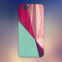 Mint x Fuxia x Light Wood Case for iPhone 6 6 Plus iPhone 5 5s 5c iPhone 4 4s Samsung Galaxy s5 s4 & s3 and Note 4 3 2