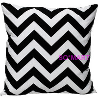 MODERN POP ART PILLOW CASE CUSHION COVER SHAM Printed Zigzag Stripe