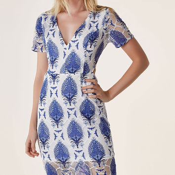 My Prints Charming Midi Dress