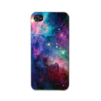 Mobile phone cases covers for Galaxy Space Universe Snap On Hard Case Cover Protector For Apple iPhone 5 5G 5S