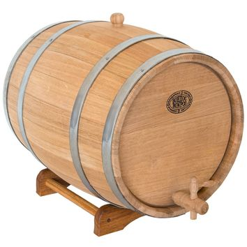 Wine Barrel, 5-80 Liters Wood Cask, Unique Groomsmen, Oak Whiskey Barrel, Winemaking, Brewing, Man Cave Gift