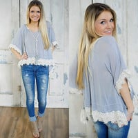 Above All Else Top (Hazel Clothes) - Piace Boutique