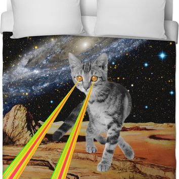 ROB Cat Space Duvet Cover