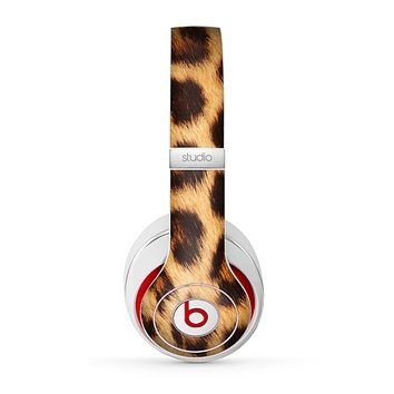 The Real Cheetah Print Skin for the Beats by Dre Studio (2013+ Version) Headphones