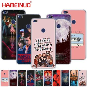 HAMEINUO stranger things Cover phone Case for huawei Ascend P7 P8 P9 P10 P20 lite plus G8 G7 2017 mate 8