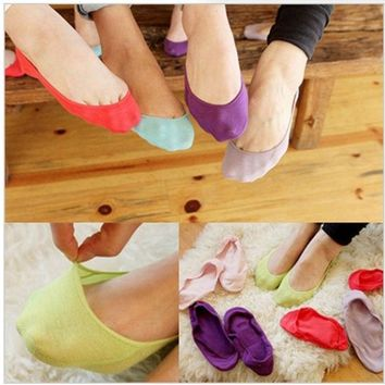 CREYUG3 20 pieces / lot women socks ankle low female invisible socks sock slippers shallow mouth summer sock thin high cotton solid color = 1930342532