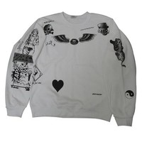 Allntrends Women's Sweatshirt 1D Zayn Malik Newest Tattoo